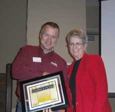 Chamber Volunteer of the Year, 2011 - Judy Taylor