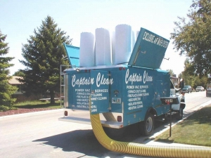 Captain Clean Truck