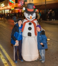 Christmas Stroll  - Snowman