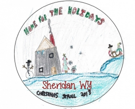 Christmas Stroll Button 2013