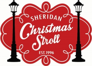 Christmas Stroll event logo