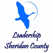 Leadership Sheridan County logo with words