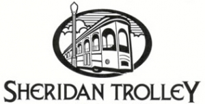 Sheridan Trolley logo