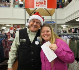 Get Caught Shopping Winner - Michelle Terry 12.06.14