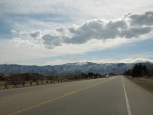 Driving from Sheridan to Big Horn