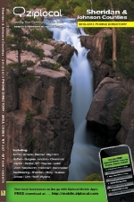 Cover of Sheridan County Phone Book 2012