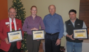 Business Awards 2012 - Jim Schellinger, Andrea & Larry Storo, Tim Barnes