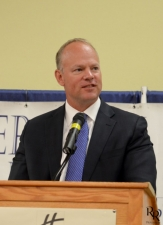 WY Governor Matt Mead at Chamber Luncheon, July 2013