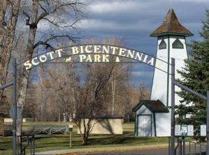 Scott Bicentennial Park in Dayton