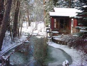 Winter in Story, WY