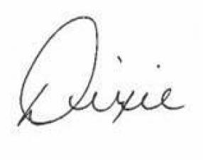 Dixie\'s Signature